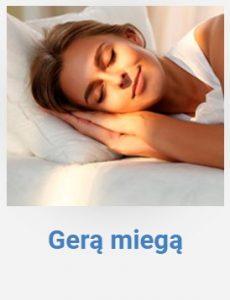 Gerą miegą