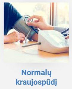 Normalų kraujospūdį
